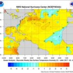 Abnormally warm gulf waters – greater tornados risk?