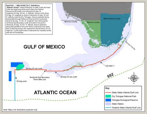 Atlantic Gulf Fisheries Boundary Line