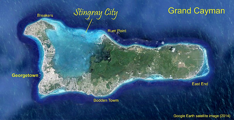 Stingray city, rum point grand cayman 00 USD for