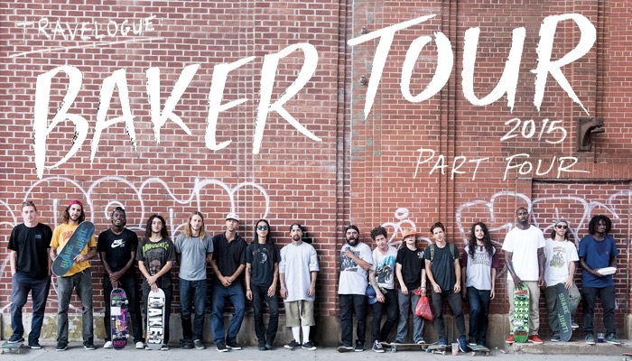 Team baker tours hurry and