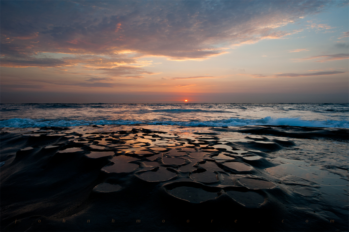 Where you can see a la jolla sunset has protected the