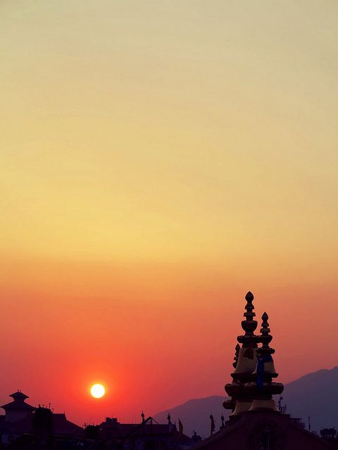 Whole nepal is ideal to look at the sunset and sunrise: view from kathmandu valley Override adtech_call_typen var delivery_type