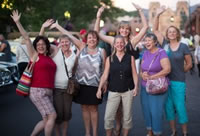 Women's travel tours, groups and clubs support for