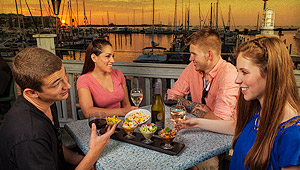 The best places to watch the sunset in key west by turtle kraals Enjoy complimentary beer, margaritas
