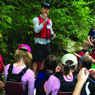 Family adventure in science outdoors : washington and lee college why is