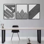 Techniques for Rocking White and Black Wall Art work